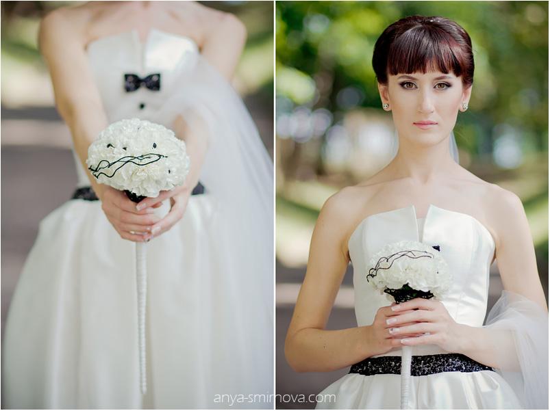 Свадебный букет из гвоздик видео